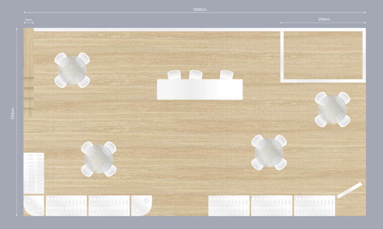 Trade booth design for Dryfo Menexopoulos Bros SA Food Expo 2020