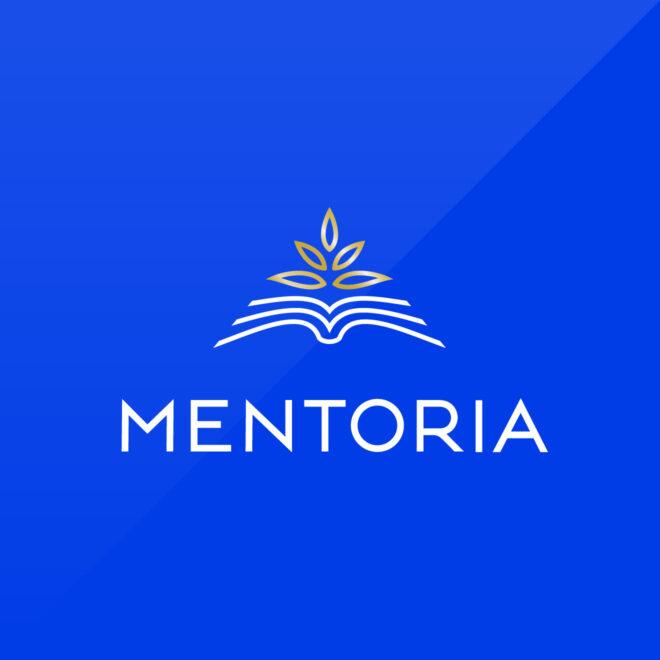 Pro bono logo design for Mentoria Greece - Education 2.0